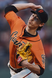 Jun 13, 2014, Colorado Rockies vs San Francisco Giants - Tim Lincecum Photographic Print by Thearon W. Henderson