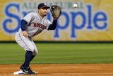 Apr 11, 2014, Houston Astros vs Texas Rangers - Jose Altuve Photographic Print by Tom Pennington