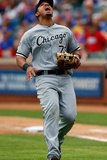 Apr 20, 2014, Chicago White Sox vs Texas Rangers - Jose Abreu Photographic Print by Tom Pennington