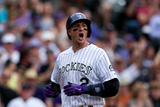 May 18, 2014, San Diego Padres vs Colorado Rockies - Troy Tulowitzki Photographic Print by Justin Edmonds