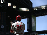 Apr 27, 2014, Philadelphia Phillies vs Arizona Diamondbacks - Chase Utley Photographic Print by Christian Petersen