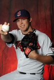 Cleveland Indians Photo Day: Feb 19, 2013 - Cody Allen Photographic Print by Rich Pilling