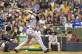 Jun 26, 2014, Colorado Rockies vs Milwaukee Brewers - Justin Morneau Photographic Print by Tom Lynn