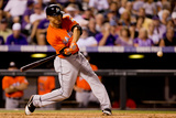Jul 23, 2013, Miami Marlins vs Colorado Rockies - Giancarlo Stanton Photographic Print by Justin Edmonds