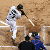 May 8, 2014, Chicago Cubs vs Chicago White Sox - Jose Abreu Photographic Print by Jonathan Daniel