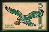 Philadelphia Eagles - Retro Logo 14 Posters