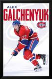 Alex Galchenyuk Montreal Canadiens Hockey Poster Plakater