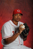 Cincinnati Reds Photo Day: Mar 4, 2013 - Alfredo Simon Photographic Print by Rich Pilling