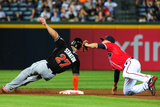 Aug 30, 2013, Miami Marlins vs Atlanta Braves - Giancarlo Stanton Photographic Print by Scott Cunningham