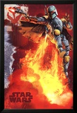 Star Wars - Boba Fett blast Prints