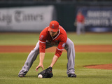 Aug 28, 2013, Los Angeles Angels of Anaheim vs Tampa Bay Rays - Garrett Richards Photographic Print by Al Messerschmidt