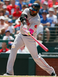 May 11, 2014, Boston Red Sox vs Texas Rangers - David Ortiz Photographic Print by Tom Pennington