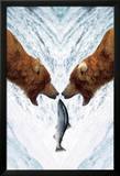 Two Bears For One Fish Poster