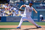 Jun 29, 2014, St Louis Cardinals vs Los Angeles Dodgers - Clayton Kershaw Photographic Print by Lisa Blumenfeld