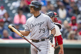 May 4, 2014, Chicago White Sox  vs Cleveland Indians - Jose Abreu Photographic Print by Jason Miller