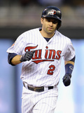 May 16, 2014, Seattle Mariners vs Minnesota Twins - Brian Dozier Photographic Print by Hannah Foslien