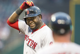Jun 2, 2014, Boston Red Sox vs Cleveland Indians - David Ortiz, Arnie Beyeler Photographic Print by Jason Miller