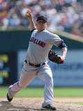 Sep 3, 2012, Cleveland Indians vs Detroit Tigers - Cody Allen Photographic Print by Leon Halip