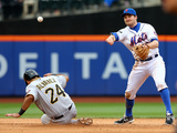 May 28, 2014, Pittsburgh Pirates vs New York Mets - Daniel Murphy, Pedro Alvarez Photographic Print