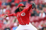 May 15, 2014, San Diego Padres vs Cincinnati Reds - Johnny Cueto Photographic Print by Andy Lyons