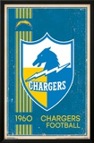 San Diego Chargers - Retro Logo 14 Prints