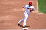 Jun 26, 2014, Minnesota Twins vs Los Angeles Angels of Anaheim - Albert Pujols Fotografisk tryk af Lisa Blumenfeld