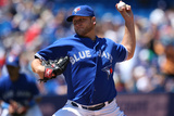 Jul 20, 2013, Tampa Bay Rays vs Toronto Blue Jays - Mark Buehrle Photographic Print by Tom Szczerbowski