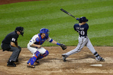 Jun 12, 2014, Milwaukee Brewers vs New York Mets - Jonathan Lucroy Photographic Print by Rich Schultz