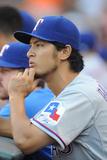 Jun 30, 2014, Texas Rangers vs Baltimore Orioles - Yu Darvish Photographic Print by Mitchell Layton