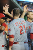 May 19, 2014, Cincinnati Reds vs Washington Nationals - Todd Frazier Photographic Print by Mitchell Layton