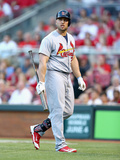 May 25, 2014, St Louis Cardinals vs Cincinnati Reds - Matt Holliday Photographic Print by Andy Lyons