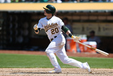 May 7, 2014, Seattle Mariners vs Oakland Athletics - Josh Donaldson Photographic Print by Thearon W. Henderson