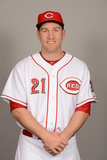 2014 Cincinnati Reds Photo Day: Feb 20 - Todd Frazier Photographic Print by Robert Binder