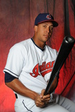 Cleveland Indians Photo Day: Feb 19, 2013 - Michael Brantley Photographic Print by Rich Pilling