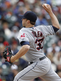 May 12, 2013, Cleveland Indians vs Detroit Tigers - Cody Allen Photographic Print by Duane Burleson