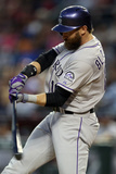 Apr 29, 2014, Colorado Rockies vs Arizona Diamondbacks - Charlie Blackmon Photographic Print by Christian Petersen