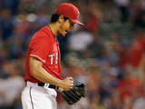 Jun 11, 2014, Miami Marlins vs Texas Rangers - Yu Darvish Photographic Print by Tom Pennington