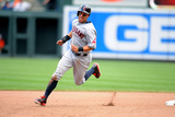 May 24, 2014, Cleveland Indians vs Baltimore Orioles - Michael Brantley Photographic Print by Mitchell Layton