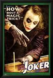 Batman: The Dark Knight - Joker Magic Trick Poster