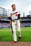 Apr 27, 2014, Cincinnati Reds vs Atlanta Braves - Freddie Freeman Photographic Print by Scott Cunningham