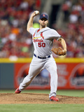 May 25, 2014, St Louis Cardinals vs Cincinnati Reds - Adam Wainwright Photographic Print by Andy Lyons