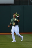 May 7, 2014, Seattle Mariners vs Oakland Athletics - Yoenis Cespedes Photographic Print by Thearon W. Henderson