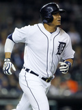 May 7, 2014, Houston Astros vs Detroit Tigers - Victor Martinez Photographic Print by Duane Burleson
