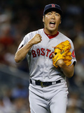 Jun 28, 2014, Boston Red Sox vs New York Yankees - Koji Uehara Photographic Print by Rich Schultz
