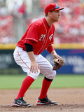 Apr 13, 2014, Tampa Bay Rays vs Cincinnati Reds - Todd Frazier Photographic Print by Andy Lyons