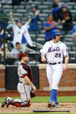 May 24, 2014, Arizona Diamondbacks vs New York Mets - Daniel Murphy, Miguel Montero Photographic Print