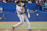 Apr 22, 2014, Baltimore Orioles vs Toronto Blue Jays - Nelson Cruz Photographic Print by Tom Szczerbowski