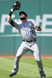 May 31, 2014, Colorado Rockies vs Cleveland Indians - Charlie Blackmon Photographic Print by Jason Miller