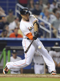 Apr 16, 2014, Washington Nationals vs Miami Marlins - Giancarlo Stanton Photographic Print by Rhona Wise