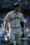 May 10, 2014, San Francisco Giants vs Los Angeles Dodgers - Hunter Pence Photographic Print by Lisa Blumenfeld